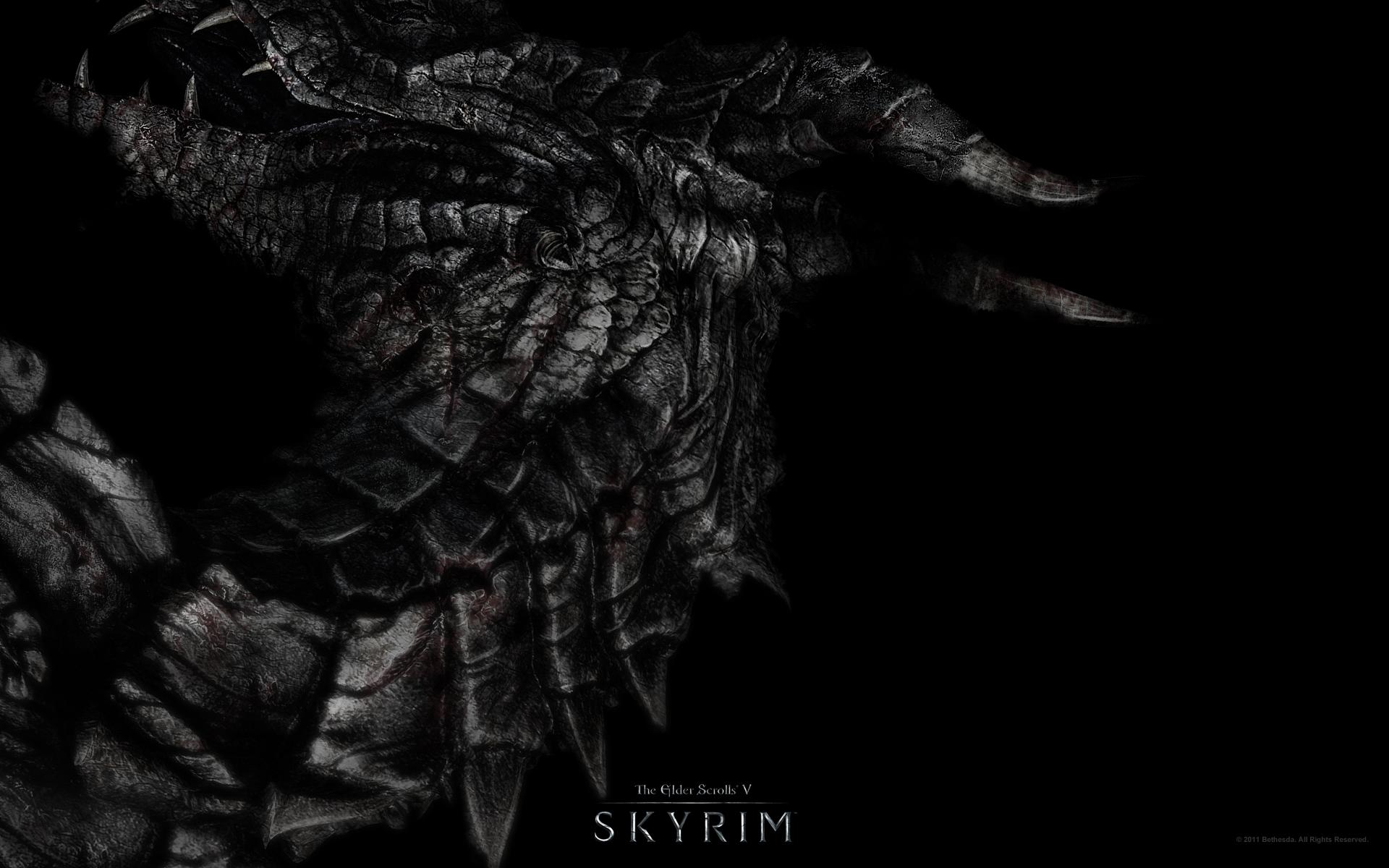 skyrim обои: